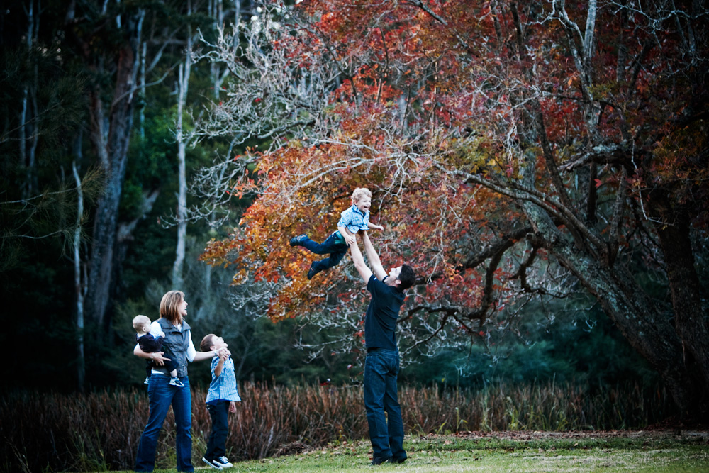 anzac day autumn family bliss.  {southern sydney family photographer}