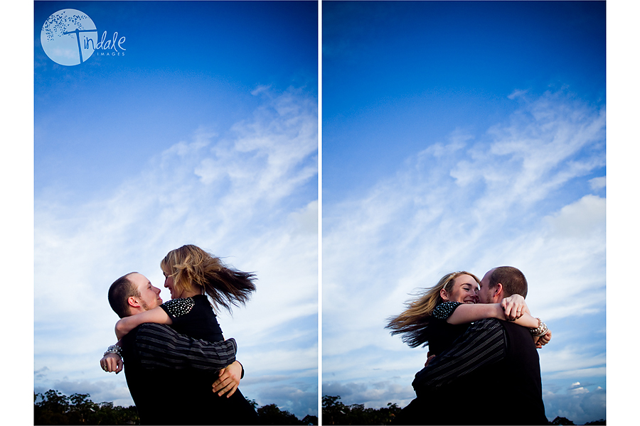 a stunning engagement session by the beach.. {southern sydney wedding photographer}