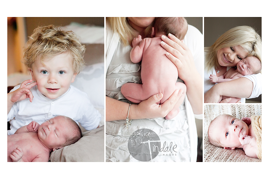 little blondies... {southern sydney newborn photographer}
