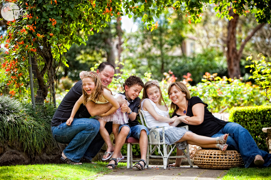 delightful family of 5 - southern sydney family photographer