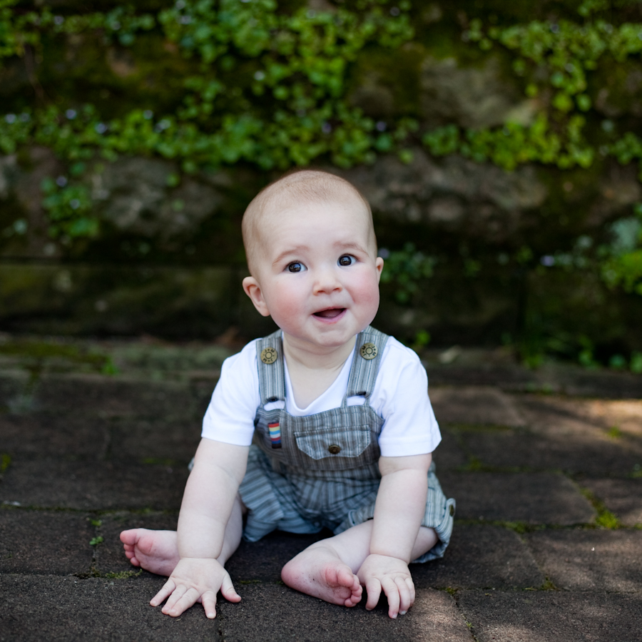 6 month cutie -southern sydney baby photographer
