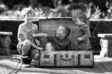 3 little monkeys  - sutherland shire family photographer