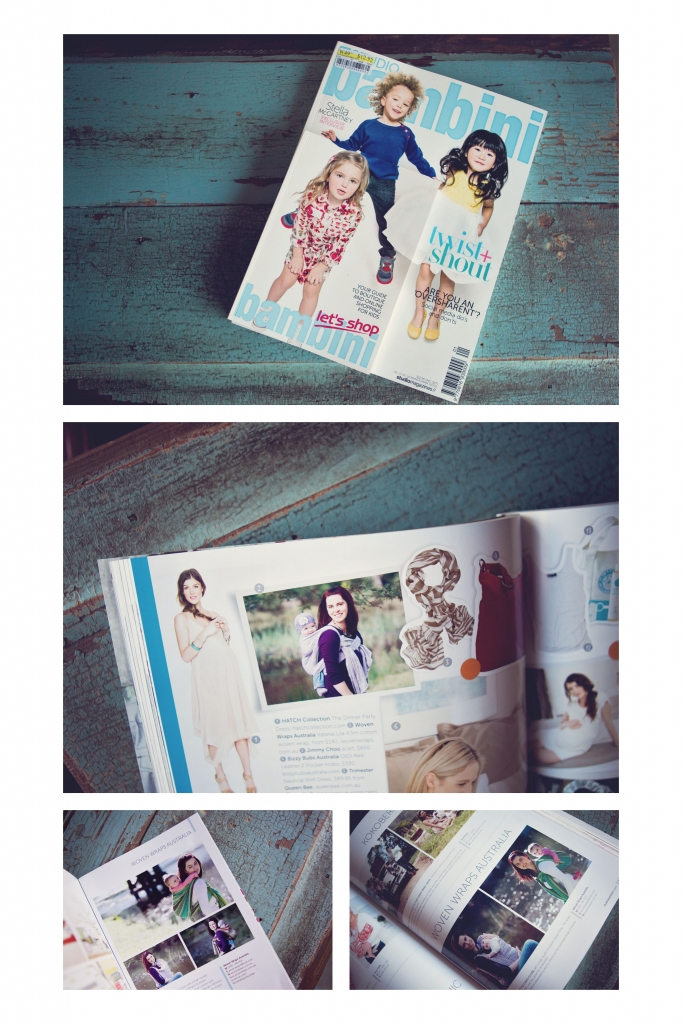 magazine bambini 682x1024 in the press   sutherland shire family photographer