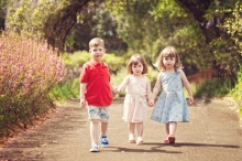 blossoms and toddlers.... - sutherland shire family photographer