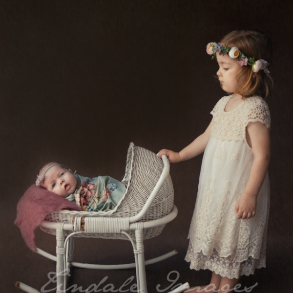 sisters - sutherland shire newborn photographer