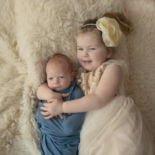 blue eyes - sutherland shire newborn photographer