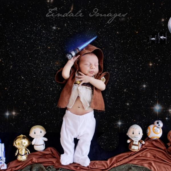 my little jeddi - sutherland newborn photographer