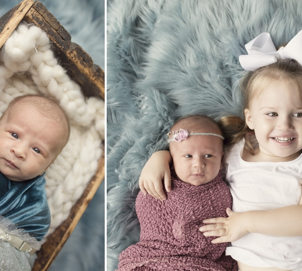 twins 2 years apart - sutherland shire newborn photographer