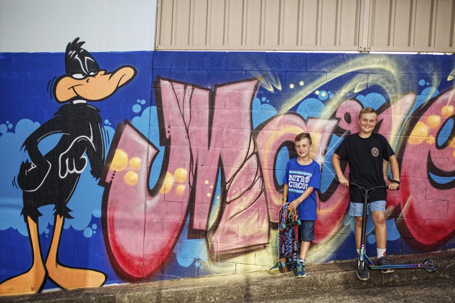 storyboard 18 graffiti madness   sutherland shire children photographer