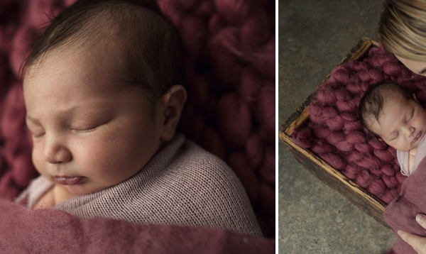 pretty in pink - sutherland shire newborn photographer