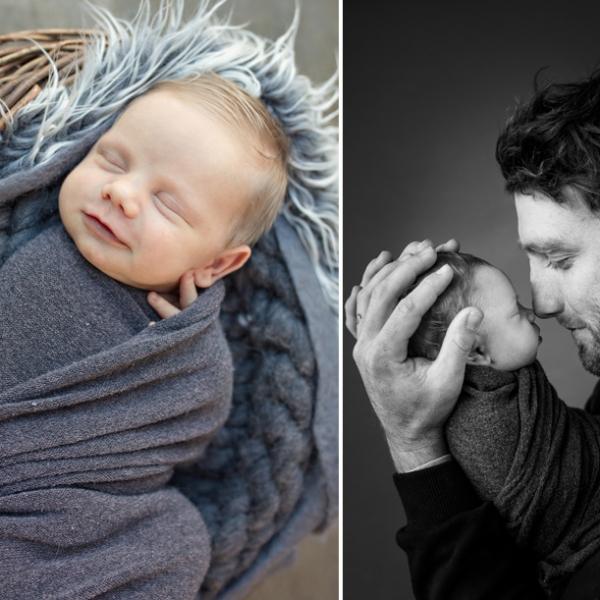blonde cuteness - sutherland shire newborn photographer