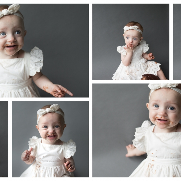 many faces of cake - Sutherland shire cake smash photographer