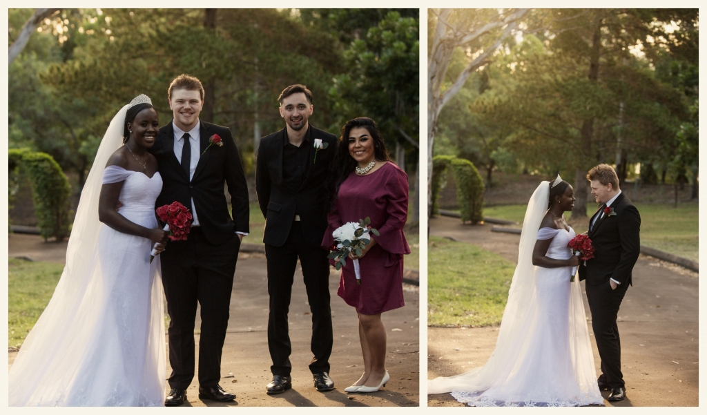 BeFunky collage 110final edit1 1024x601 Intimate Wedding in the midst of Covid   sutherland shire wedding photographer