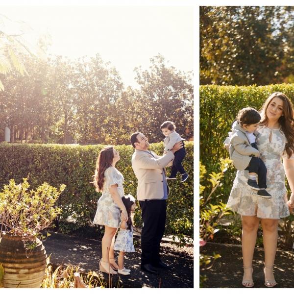 beautiful light and beautiful family - sutherland shire family photographer