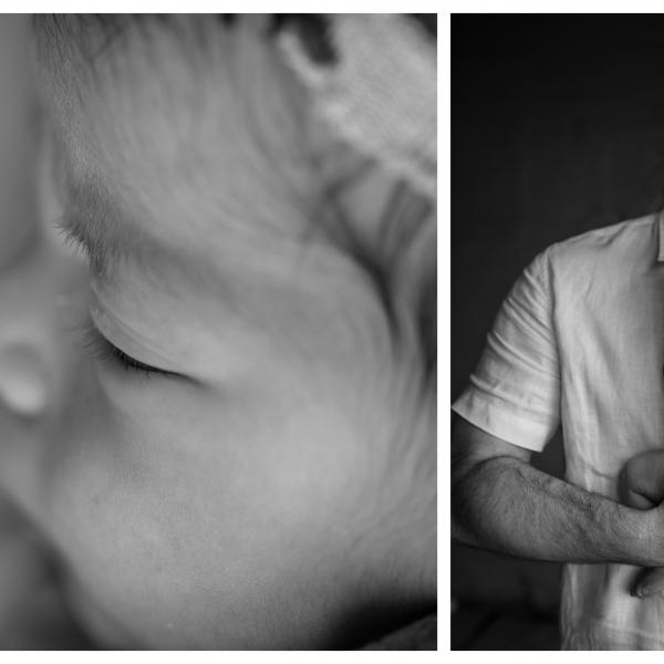 dainty little button - sutherland shire newborn photographer
