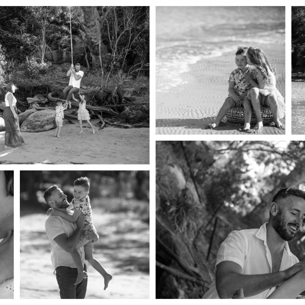 beach fun - sutherland shire family photographer