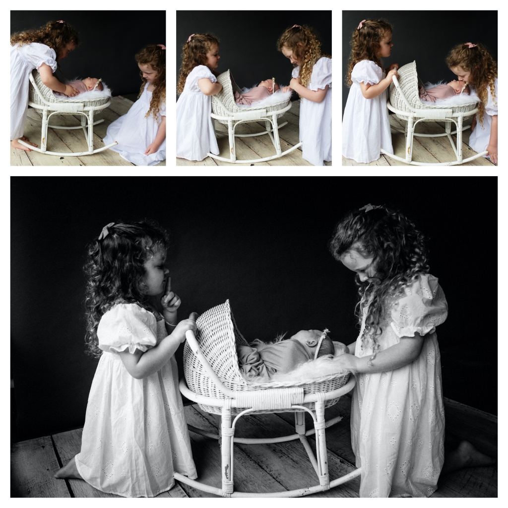 BeFunky collage 1002 1024x1024 beautiful sisters   sutherland shire newborn photographer