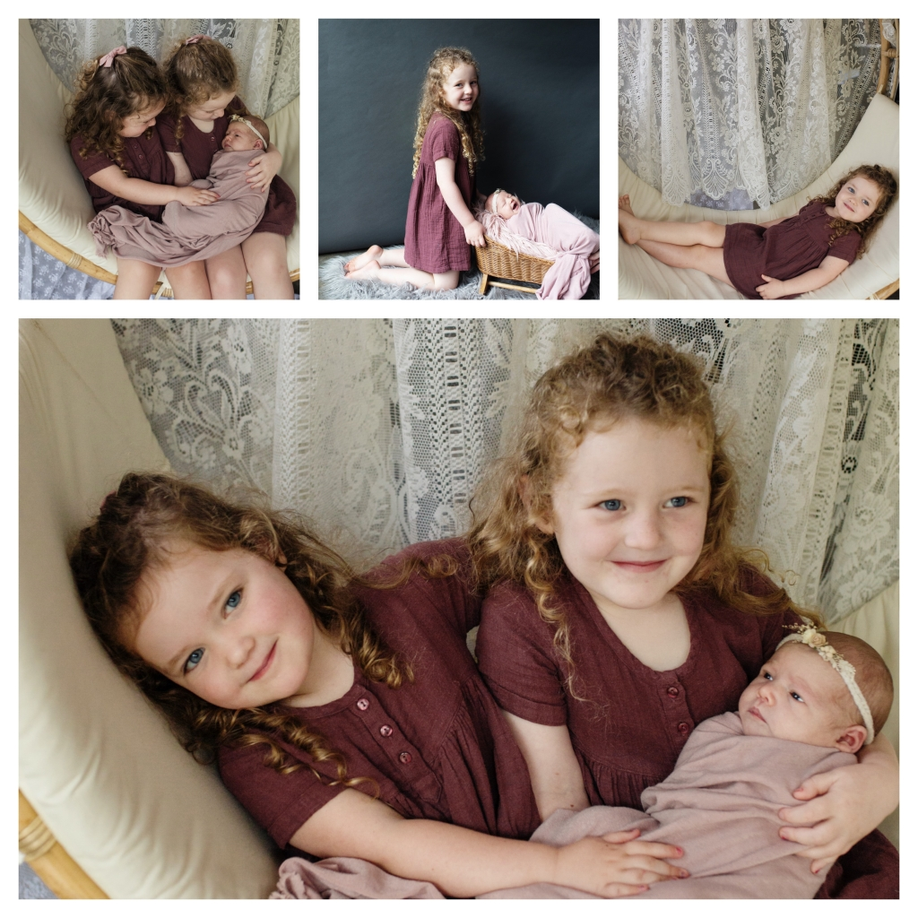 BeFunky collage 1004 1024x1024 beautiful sisters   sutherland shire newborn photographer
