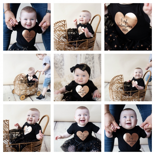 adorable valentines day clothes - sutherland shire children photographer