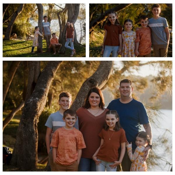 sunset hues - sutherland shire family photographer