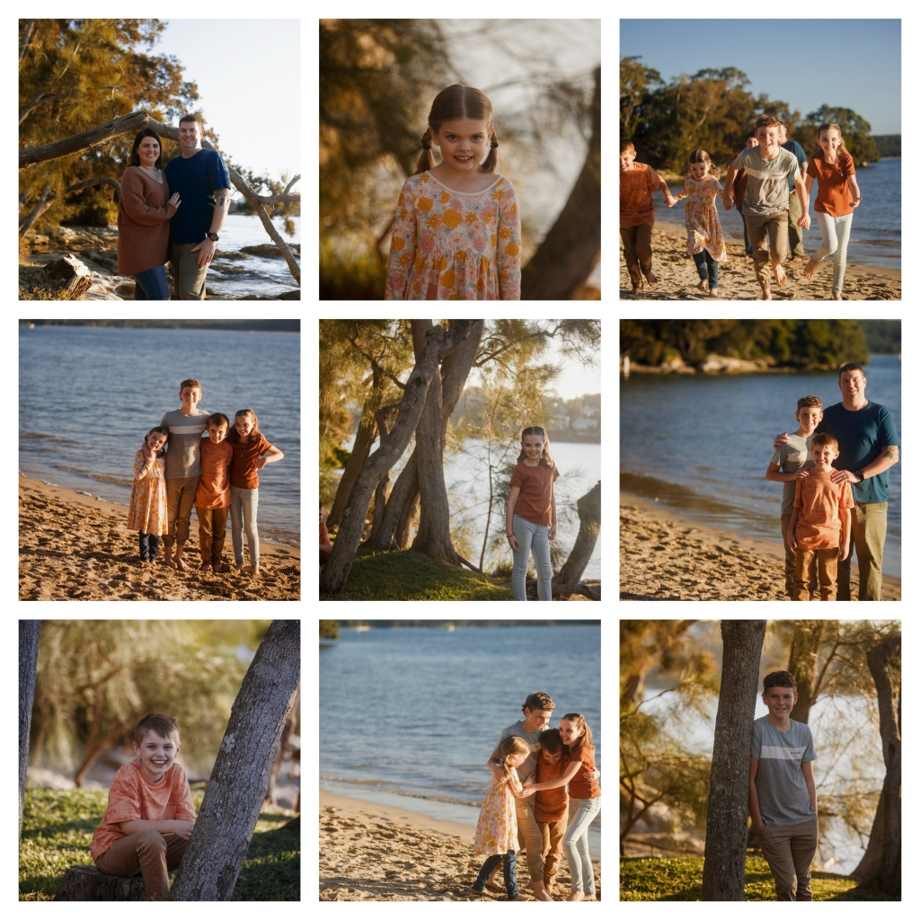 BeFunky collage 2007 1024x1024 sunset hues   sutherland shire family photographer