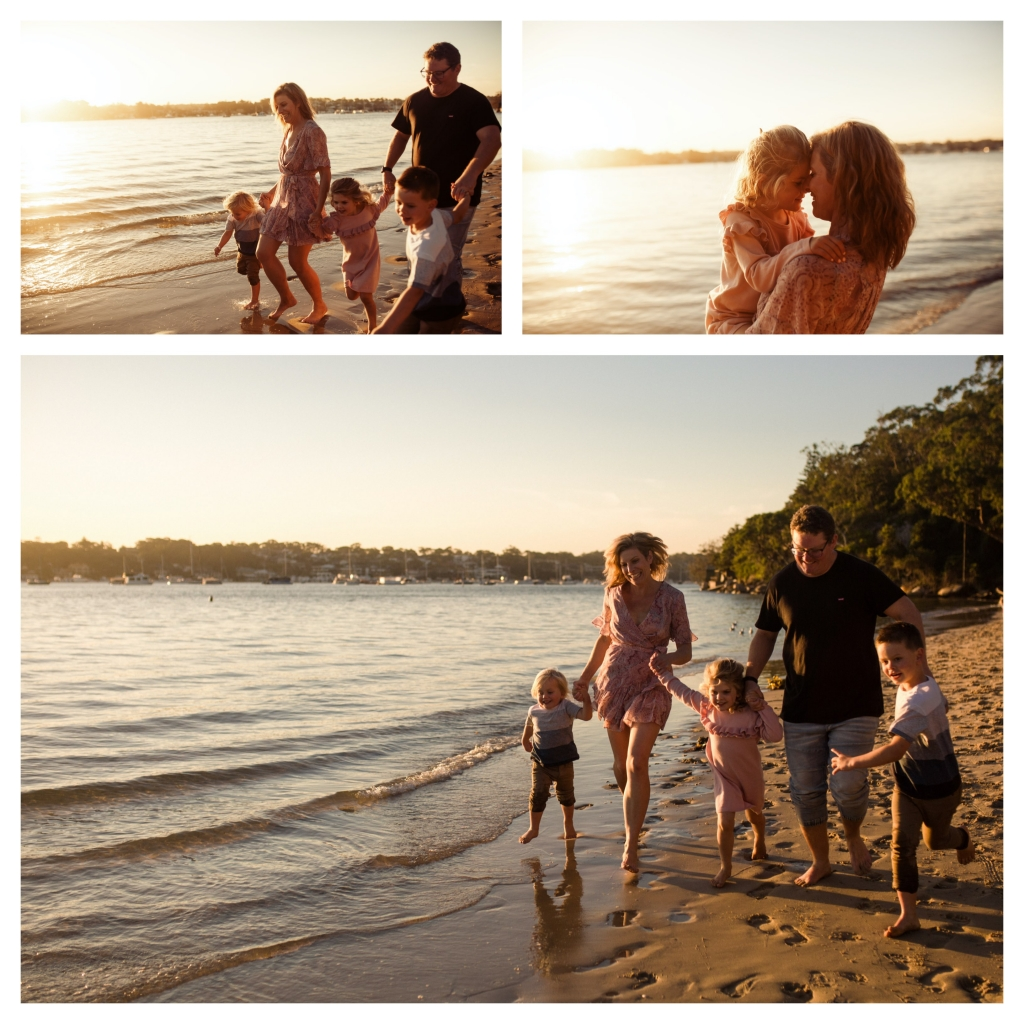 BeFunky collage 3 1024x1024 last rays of summer   sutherland shire family photographer