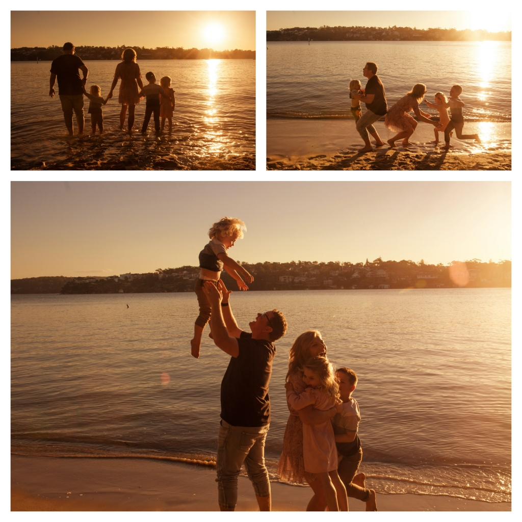 BeFunky collage 5 1024x1024 last rays of summer   sutherland shire family photographer