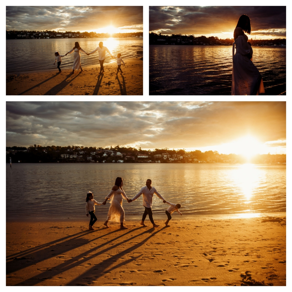 BeFunky collage 554 1024x1024 stunning bump and sunset   sutherland shire maternity photographer