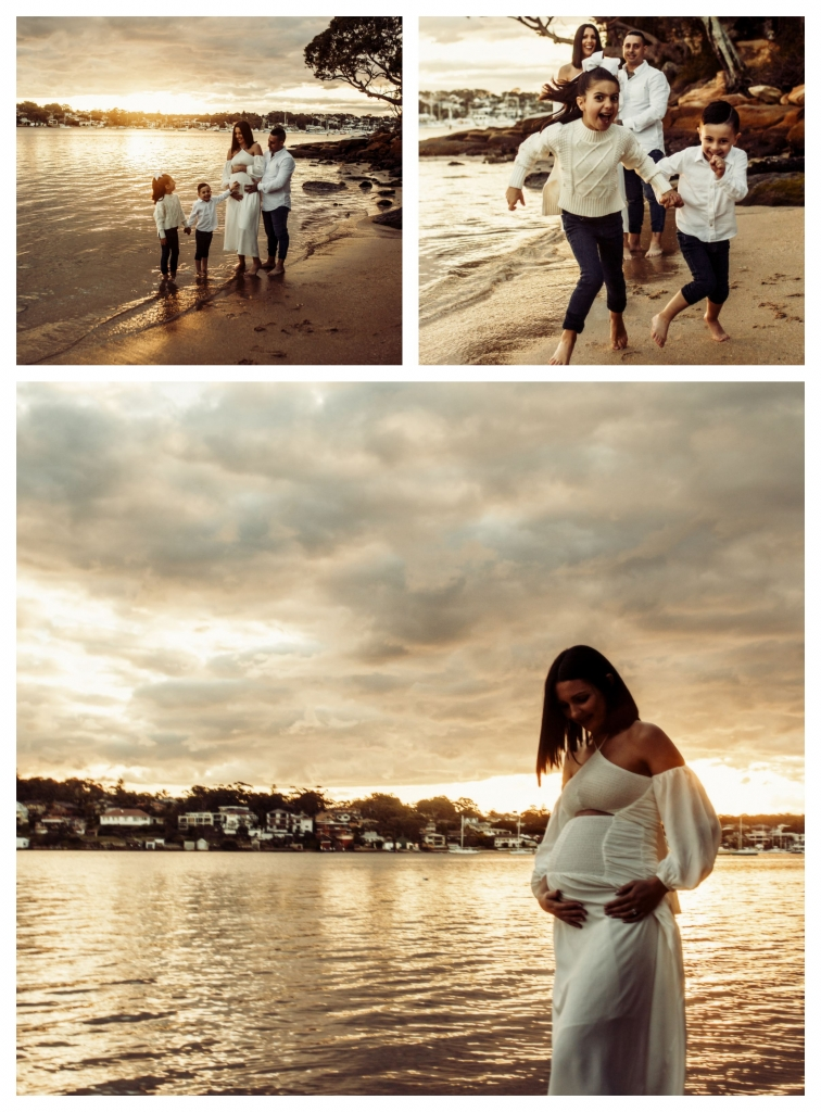 BeFunky collage 556 756x1024 stunning bump and sunset   sutherland shire maternity photographer