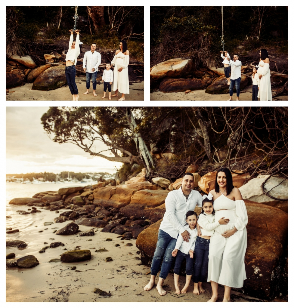 BeFunky collage 557 977x1024 stunning bump and sunset   sutherland shire maternity photographer