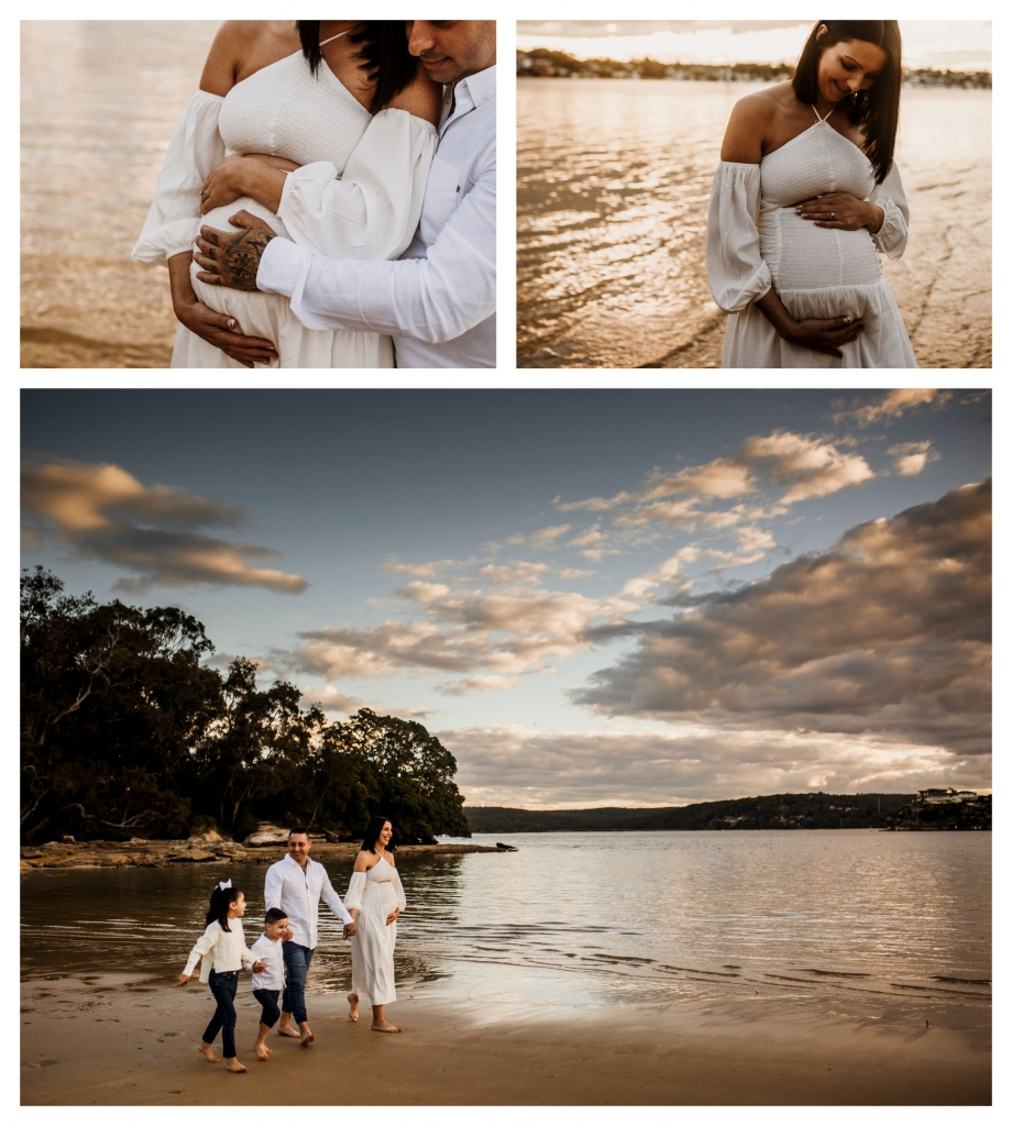 BeFunky collage 559 920x1024 stunning bump and sunset   sutherland shire maternity photographer