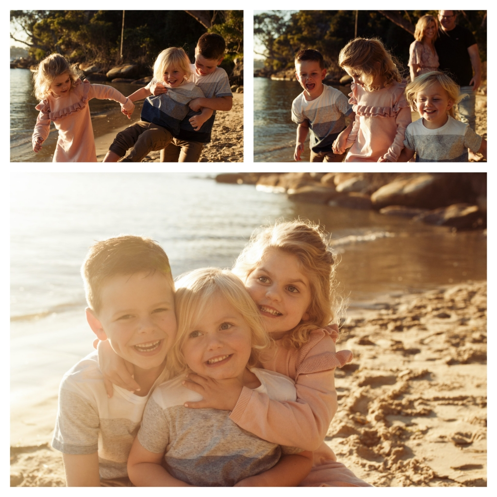 BeFunky collage 6 1024x1024 last rays of summer   sutherland shire family photographer