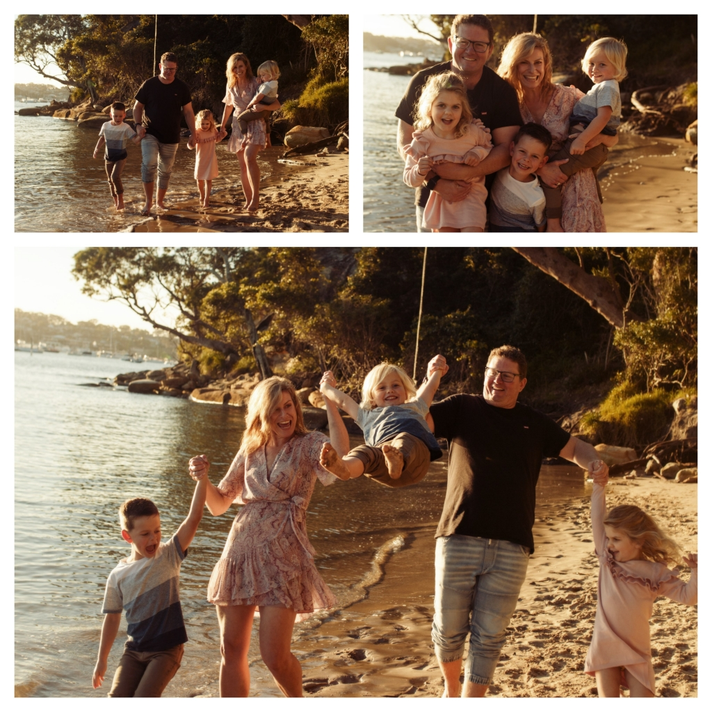 BeFunky collage 7 1024x1024 last rays of summer   sutherland shire family photographer