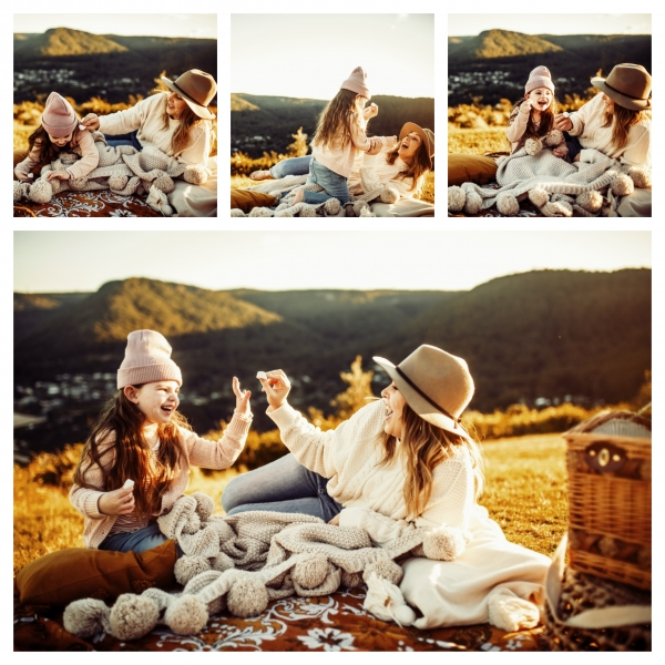 winter picnic bliss - sutherland shire family photographer