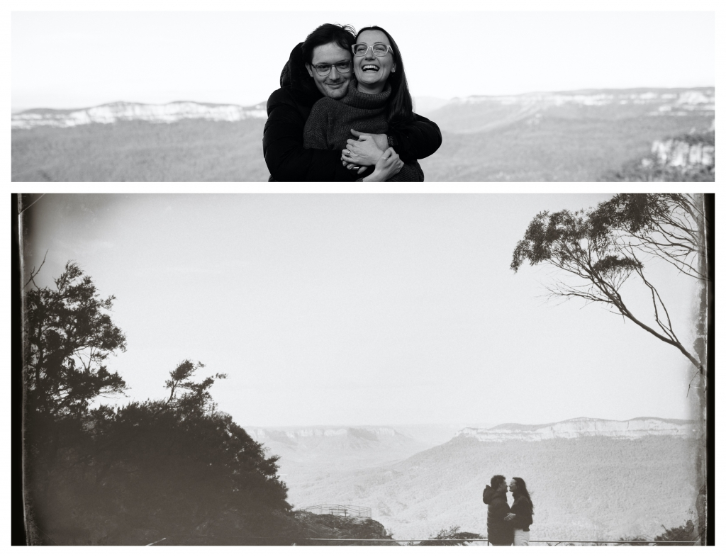 BeFunky collage 8 1024x786 spectacular surprise proposal   sutherland shire wedding photographer
